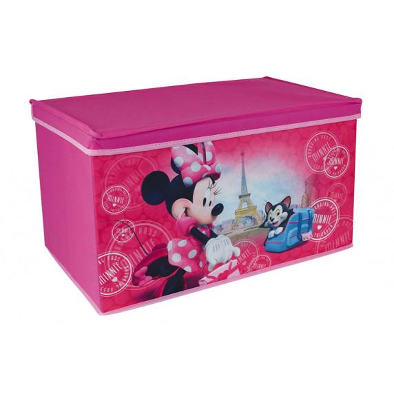 Dětská látková truhla na hračky Minnie Mouse FUN HOUSE 712867