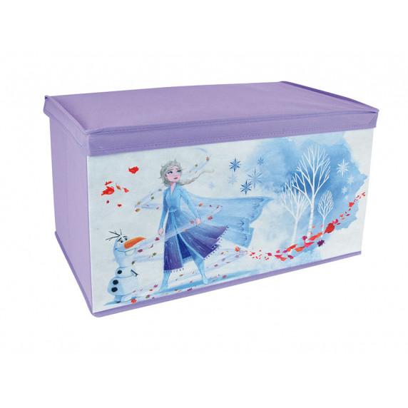 Dětská látková truhla na hračky Frozen II FUN HOUSE 713188