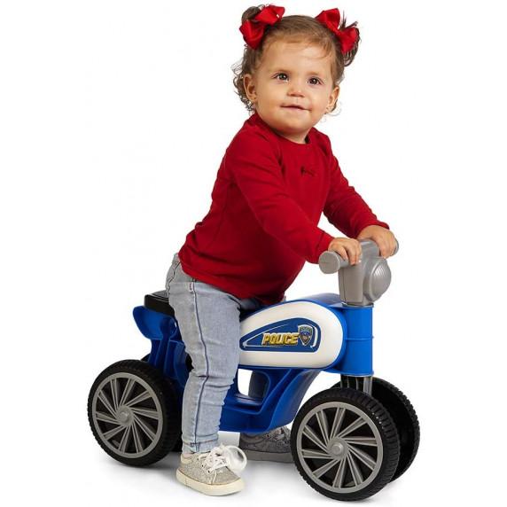 CHICOS Mini Custom Police Detské odrážadlo motorka
