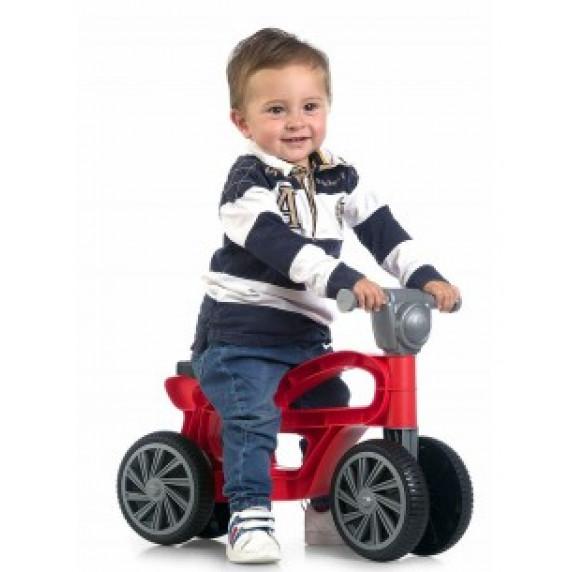 Chicos Dětské odrážedlo motorka - červené