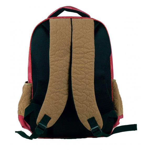 G.I.M. MINNIE Růžový/hnědý školní set 2020 - školní taška + penál