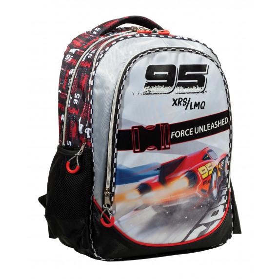 G.I.M. školní set CARS 2020 - školní taška + penál + sešit