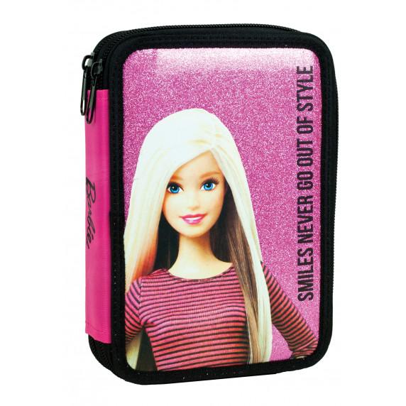 G.I.M. školský set Barbie 2020 čierno/modrý - batoh + penál s príslušenstvím