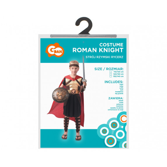 GoDan Detský kostým gladiator 120/130