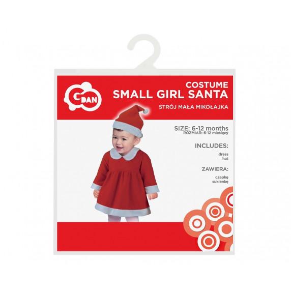 GoDan Kostým malého Santu pro holčičky