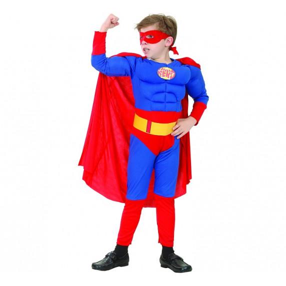 Godan Dětský kostým Super Hero 120/130 cm