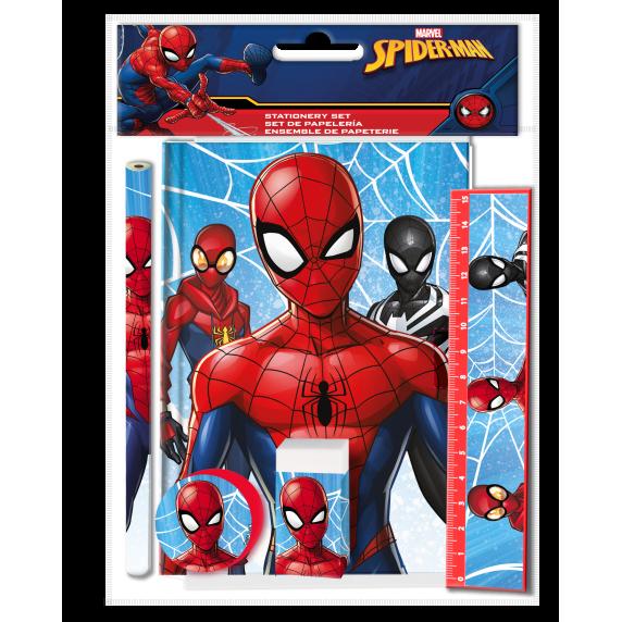 Školní set Kids Licensing SPIDERMAN 2021 - batoh, penál s příslušenstvím