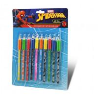 Kids Licensing Sada barevných tužek SPIDERMAN 10 ks