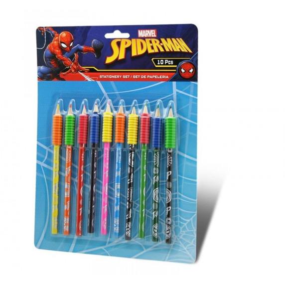 Kids Licensing Sada barevných tužek SPIDERMAN 10 ks - MV15328