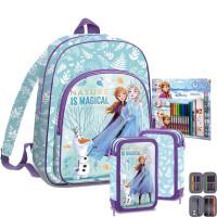 Kids Licensing školský set FROZEN - batoh + penál s príslušenstvím + set na kreslení