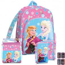 Kids Licensing školský set FROZEN 2 PINK - batoh + penál s príslušenstvím + vak na tělocvik