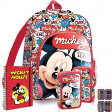 Kids Licensing školský set Mickey - batoh + penál s príslušenstvím Preview