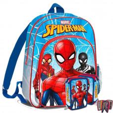 Kids Licensing školský set SPIDERMAN - batoh + penal s príslušenstvím - světle modrá Preview