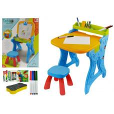 Inlea4Fun PAINTING TABLE Multifunkční kreslící stůl 2v1 s židličkou Preview