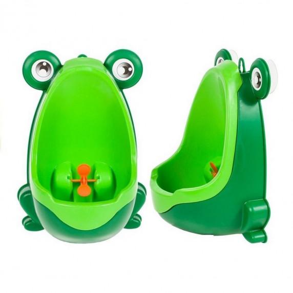 BabyYuga mini pisoár pro děti s přísavkami zelený