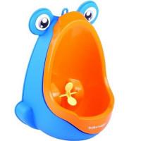 BabyYuga mini pisoár pro děti s přísavkami - oranžový