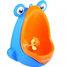 BabyYuga mini pisoár pro děti s přísavkami - oranžový Preview