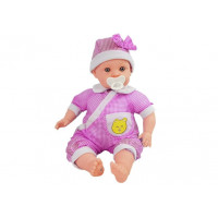 Inlea4Fun BABY KID Dětská panenka-miminko 45 cm - růžové