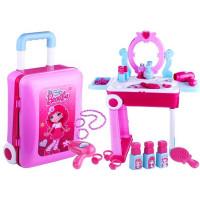 Inlea4Fun dětský toaletní stolek v kufříku BEAUTY