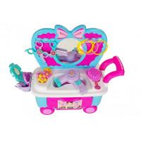 Inlea4Fun MAKEUP CART Kosmetický vozík s doplňky