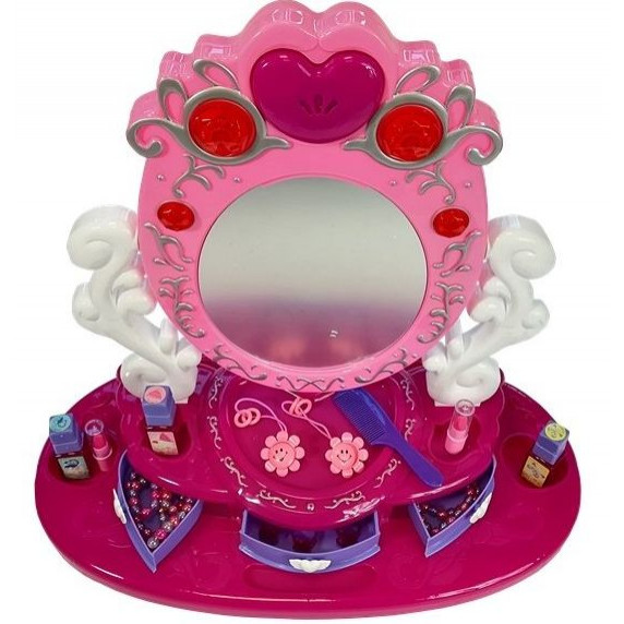 Inlea4Fun Dresser Mirror Dětský toaletní stolek