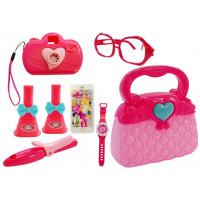 Inlea4Fun Stylish GIRL Dívčí kabelka s doplňky