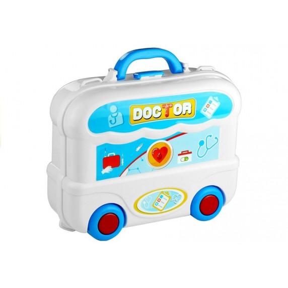 Inlea4Fun dětský lékařský set v kufříku + 20 kusů příslušenství