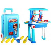 Inlea4Fun Dětský lékařský set v kufříku
