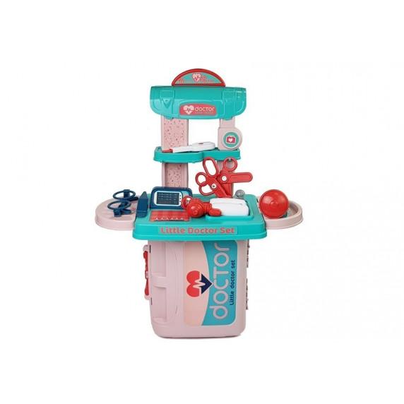 Inlea4Fun LITTLE DOCTOR Dětský lékařský set v kufříku 3v1