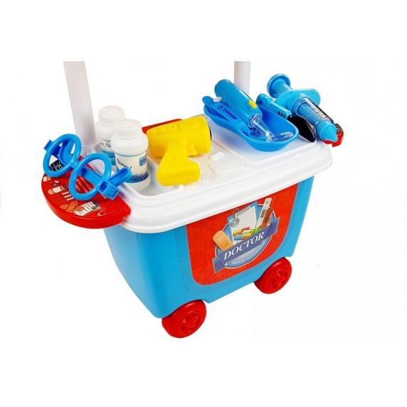 Inlea4Fun DOCTOR SET Dětský lékařský vozík