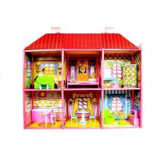 Domeček pro panenky Inlea4Fun VILLA Preview