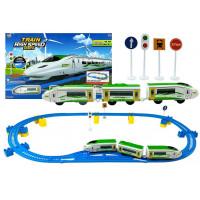Inlea4Fun TRAIN HIGH SPEED Vlaková trať s doplňky