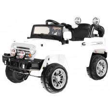 JEEP JJ245 Elektrické autíčko - Bílé Preview