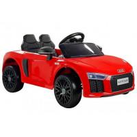 Elektrické autíčko AUDI R8 Spyder 2.4G EVA  - červené