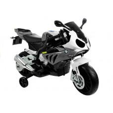 BMW S1000 RR Dětská elektrická motorka - šedá Preview