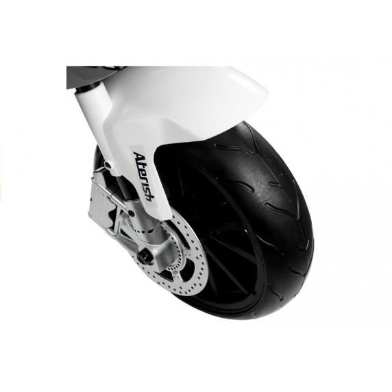 BMW S1000 RR Dětská elektrická motorka - šedá