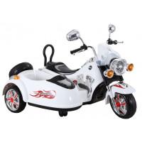 Inlea4Fun Elektrická motorka SX138 - bílá