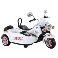 Inlea4Fun Elektrická motorka SX138 - bílá Preview