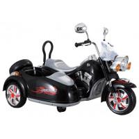 Inlea4Fun Elektrická motorka SX138 - černá