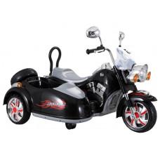 Inlea4Fun Elektrická motorka SX138 - černá Preview