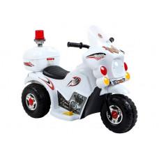 Inlea4Fun LL999 elektrická motorka - bílá Preview