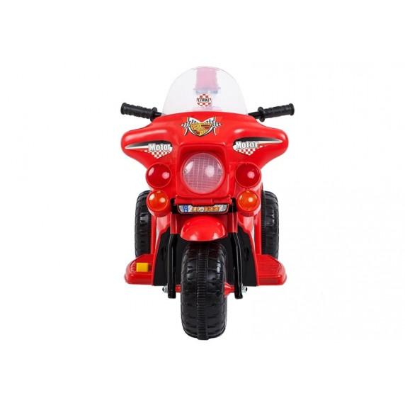 Inlea4Fun LL999 elektrická motorka - červená