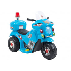 Inlea4Fun LL999 elektrická motorka - modrá Preview