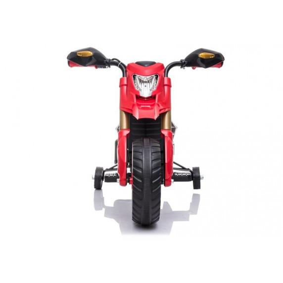Elektrická motorka LITTLE RACER TR1909 Inlea4Fun - červená