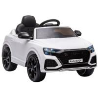 Elektrické autíčko AUDI RS Q8 - bílé