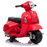 Inlea4Fun Elektrická motorka VESPA GTS 300 Mini - červená