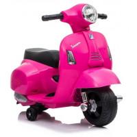 Inlea4Fun Elektrická motorka VESPA GTS 300 Mini - růžová
