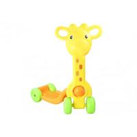 Inlea4Fun Dětská koloběžka SCOOTER - žirafa