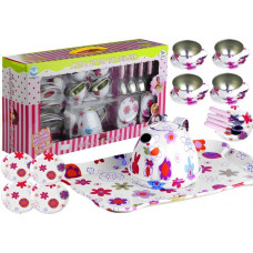 Inlea4Fun CHILDREN'S TEA SET Dětská čajová souprava s květinkami Preview