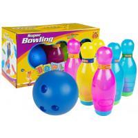 Inlea4Fun SUPER BOWLING Barevný dětský bowling